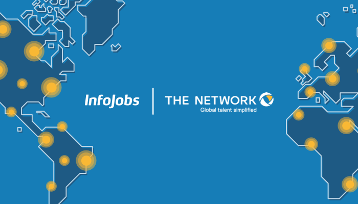 Acuerdo InfoJobs y The Network